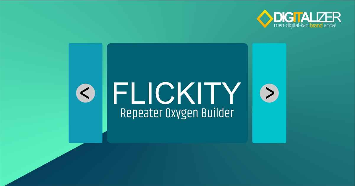 flickity di Repeater Oxygen Builder